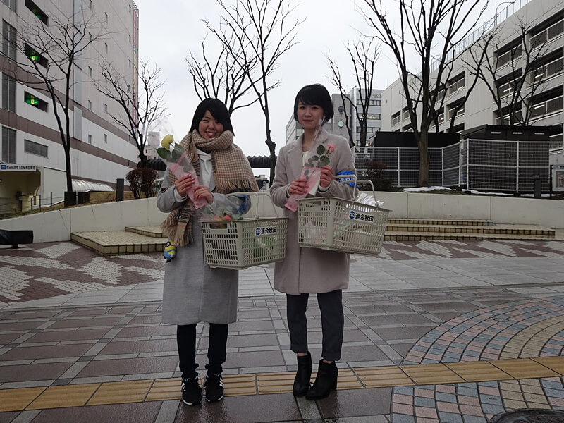 写真:「3・8国際女性デー」街宣行動04